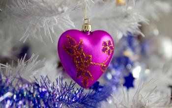 Cœur sapin de Noël