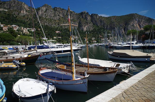 Photographie du port de Beaulieu-sur-mer.