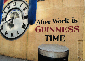 guinness after work