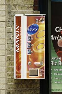 distributeur présevatif manix