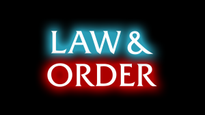 Logo de la série Law & order, New York police judiciaire
