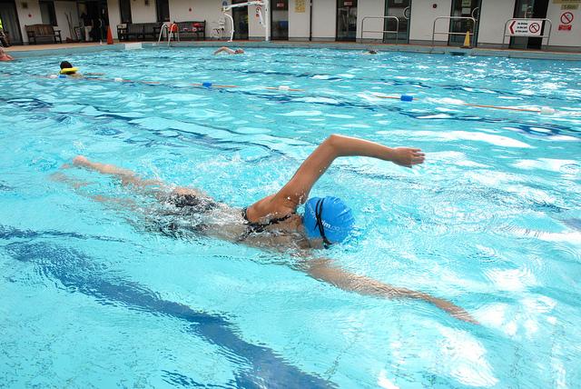natation en hiver
