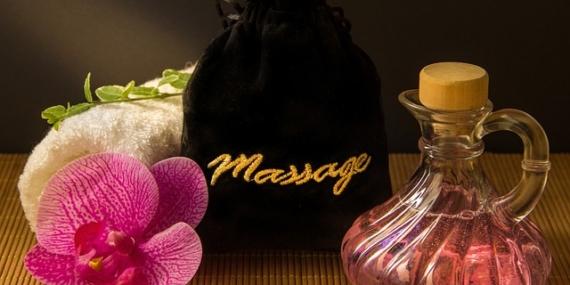Accessoires de massage.