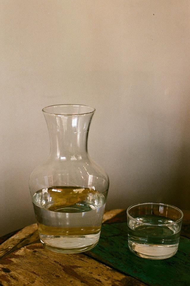 Carafe d'eau