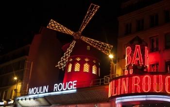 Le moulin rouge et boutique de danse