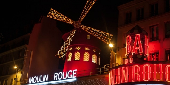 Le moulin rouge et boutique de danse